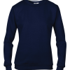 Anvil women's set-in-sweatshirt - Navy Blue