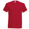 Fruit of the Loom Original T SS048_in Autumn Red Colour
