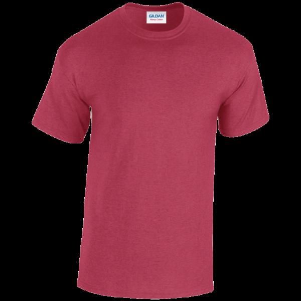 GILDAN Heavy Cotton Adult T-Shirt - Antique Cherry Red