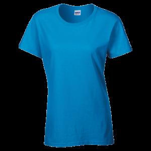 GILDAN Heavy Cotton Women's T-Shirt - Heather Sapphire
