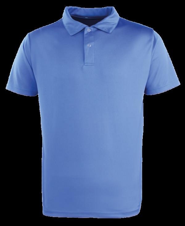 Premier Coolchecker® Studded Polo Shirt - Royal