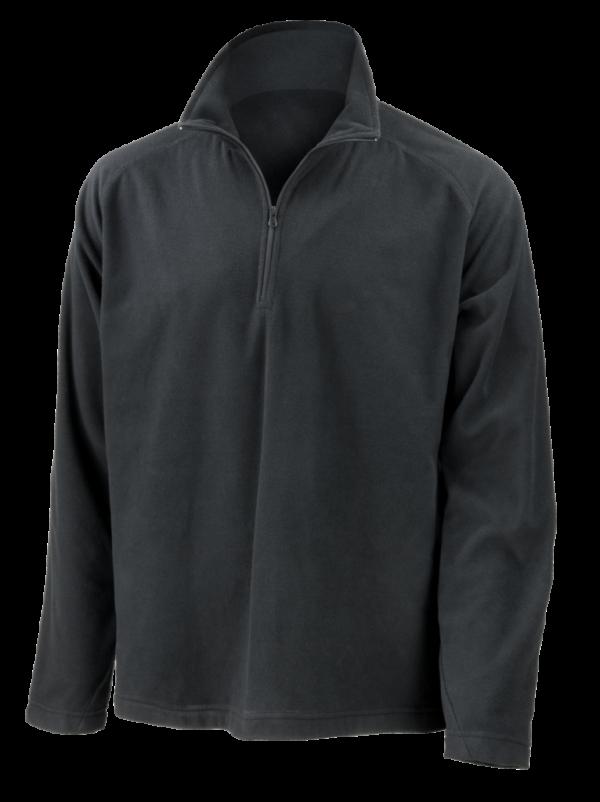 Unisex Microfleece Top - Black