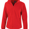 Women's Fashion Fit Outdoor Fleece - Flame Red