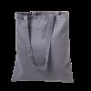 Cotton Promo Shoulder Shopper Bag - Slate Grey